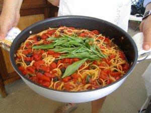 Big pan 'o pasta