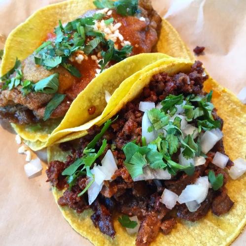 Jalapeno Chili Relleno & Chorizo Tacos